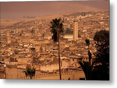 Metal Print featuring the photograph Fez by David Harding