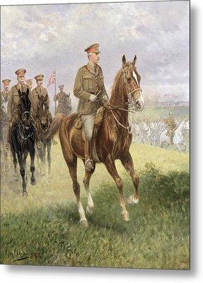 Field Marshal Haig Metal Print by Jan van Chelminski