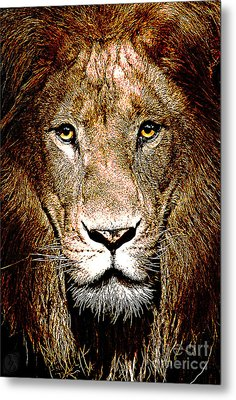 Fiercely Captivating Metal Print by The DigArtisT