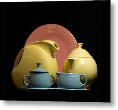 Fiesta Fun 2 Metal Print by Peter Chilelli