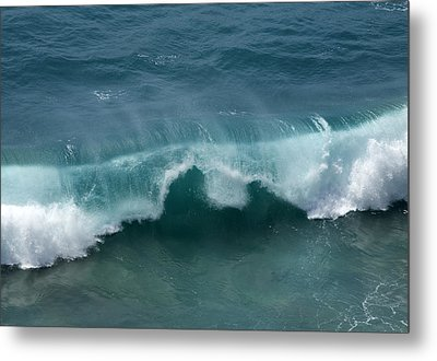 Final Collapse Of A Wave Metal Print by Gregory Scott