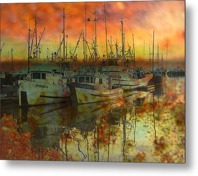 Final Rest Metal Print by Shirley Sirois