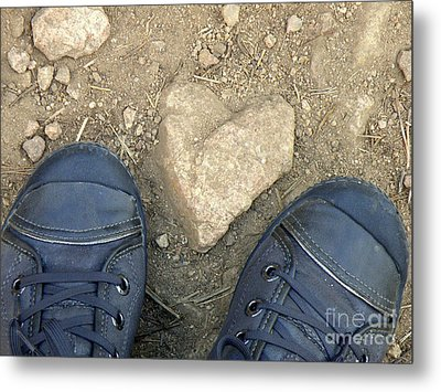 Finding Hearts Metal Print