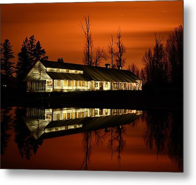 Fintry Packing House Metal Print by Phil Dionne