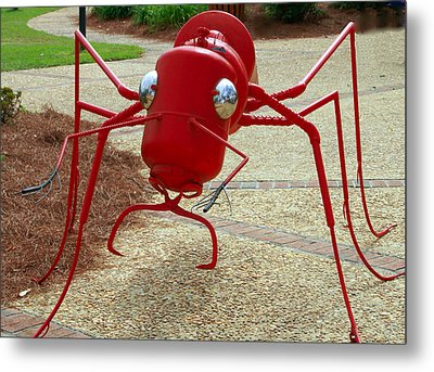 Fire Ant Art Metal Print by Danny Jones