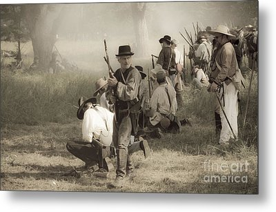 Fire At Will Metal Print by Kim Henderson
