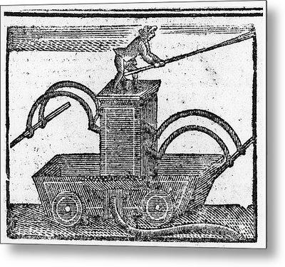 Fire Engine, 1769 Metal Print by Granger