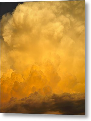 Fire In The Sky Fsp Metal Print