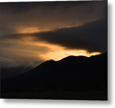 Fire On The Mountain Metal Print by Kevin Bone