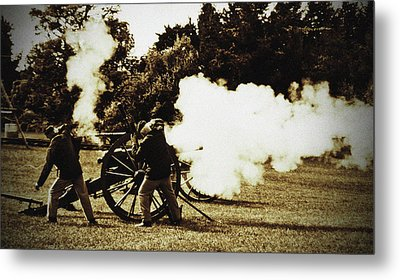 Metal Print featuring the photograph Fire by Randall  Cogle