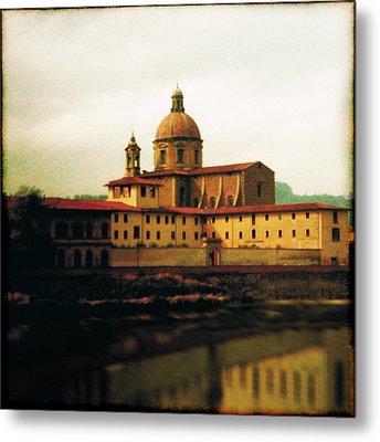 Firenze A Piedi Metal Print by Li   van Saathoff