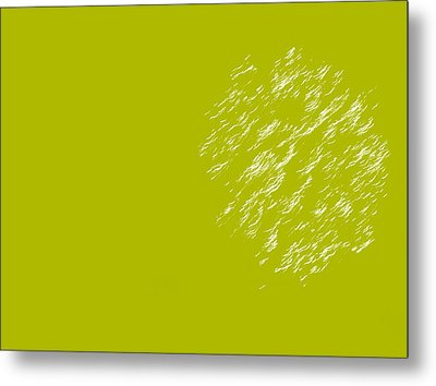 Firework Abstract Lv Metal Print by Michelle Calkins