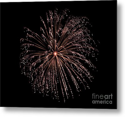 Metal Print featuring the photograph Fireworks 3 by Mark Dodd