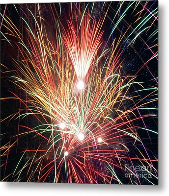 Fireworks One Metal Print
