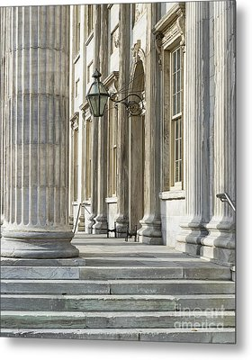 First Bank Of The United States Metal Print by John Greim