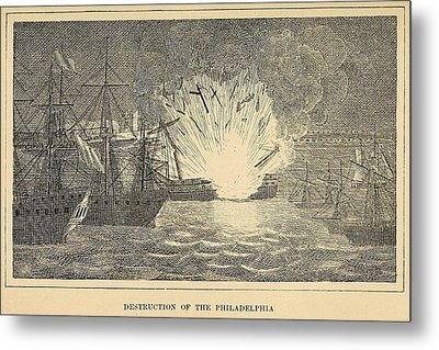First Barbary War 1801-1805 Metal Print by Everett