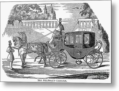 First Lady Carriage, 1851 Metal Print by Granger
