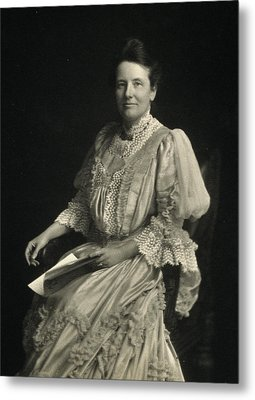 First Lady Edith Kermit Roosevelt, Wife Metal Print by Everett