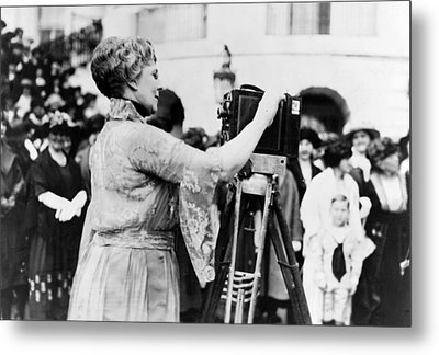 First Lady Florence Harding, Wife Metal Print by Everett