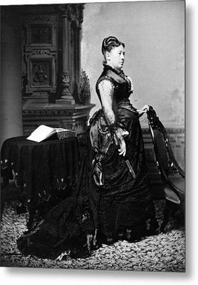 First Lady Julia Dent Grant, Wife Metal Print by Everett