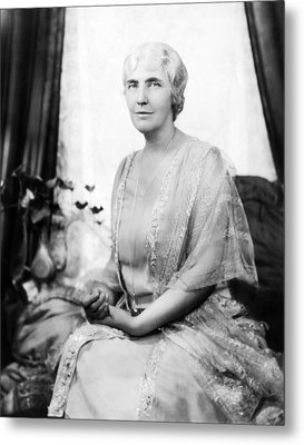 First Lady Lou Henry Hoover 1874-1944 Metal Print by Everett