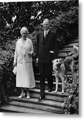 First Lady Lou Henry Hoover, President Metal Print by Everett