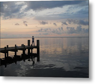 Metal Print featuring the photograph First Light by Clara Sue Beym