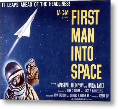 First Man Into Space, 1959 Metal Print by Everett