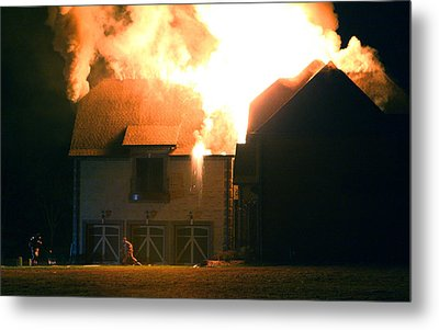 Metal Print featuring the photograph First Responders by Daniel Reed