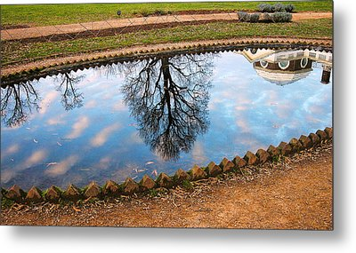 Fish Pond II Metal Print by Steven Ainsworth