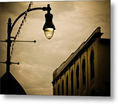 Fisher Street Facades Metal Print