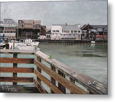 Fishermans Wharf San Francisco Metal Print by Stuart B Yaeger