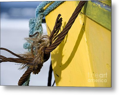 Metal Print featuring the photograph Fishermens' Knot by Agnieszka Kubica
