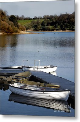 Fishing Boats Metal Print by Linsey Williams