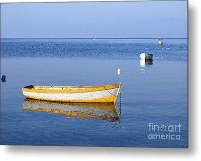 Fishing Boats Metal Print by Marija Stojkovic