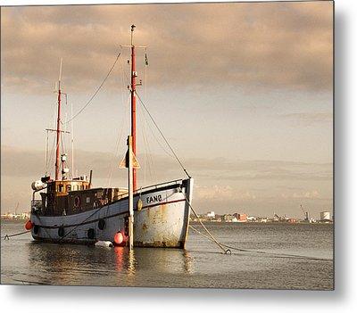 Fishing Trawler Metal Print by David Harding