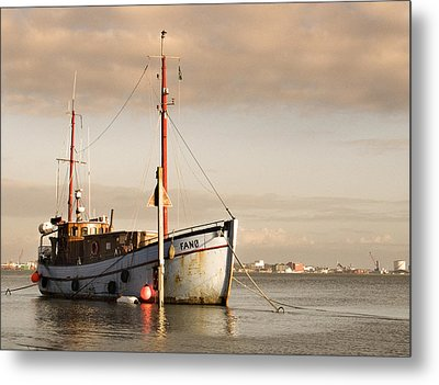 Metal Print featuring the photograph Fishing Trawler by David Harding