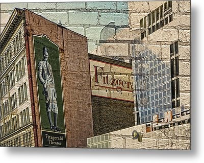 Fitzgerald Theater St. Paul Minnesota Metal Print by Susan Stone