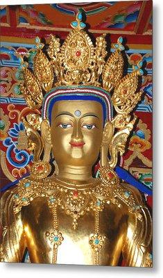 Five Dhyani Buddhas 1 Metal Print by Lanjee Chee