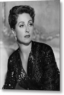 Five Fingers, Danielle Darrieux, 1952 Metal Print by Everett