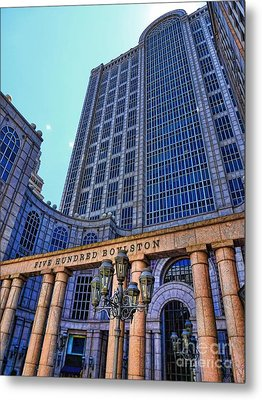 Five Hundred Boylston - Boston Architecture Metal Print