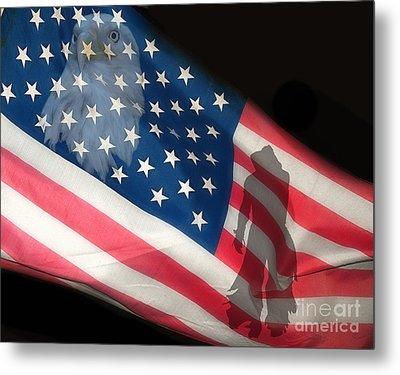 Flag IIi Metal Print by Billie-Jo Miller