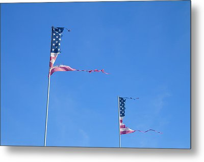 Flags Metal Print by Phil Hill