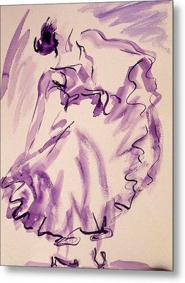 Flamenco Dancer 11 Metal Print
