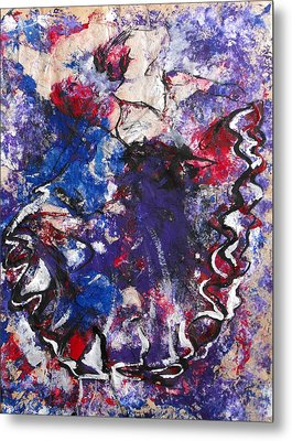 Flamenco Dancer 6 Metal Print