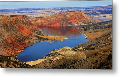 Flaming Gorge Metal Print by Donna Duckworth