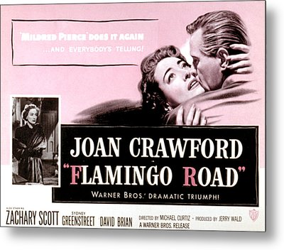 Flamingo Road, Joan Crawford, David Metal Print