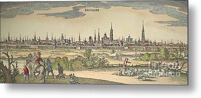 Flanders: Bruges, 1720 Metal Print by Granger