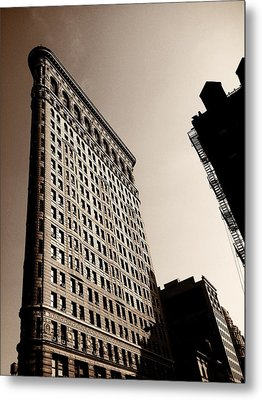 Flatiron Building - New York City Metal Print