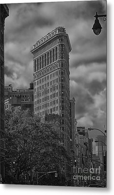 Metal Print featuring the photograph Flatiron by Vicki DeVico